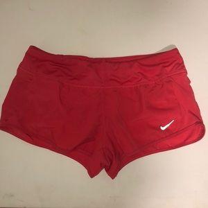 Nike Dri-fit pink running short , size large